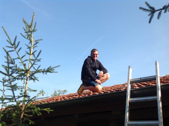 Dachdeckermeister Aljo Sennewald