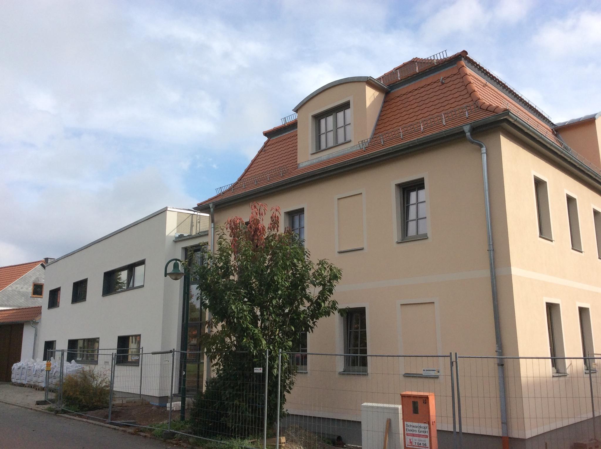 Nach 2 Jahren Bauzeit geschafft: Verwaltungsgebäude BOREAS Herbsleben